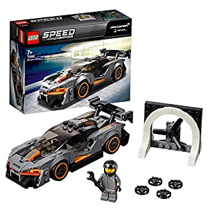 LEGO Speed Champions McLaren Senna Building Blocks for Kids (219 Pcs)75892
