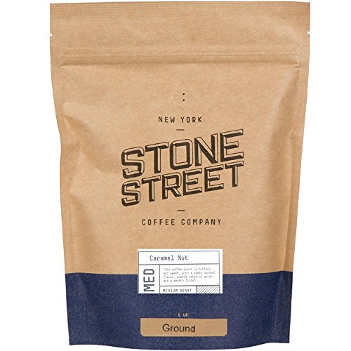 (Stone Street Coffee Company Caramel Nut Fresh Roasted Coffee Ground, 1 lb.)