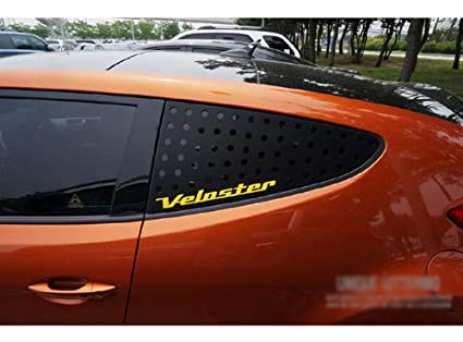 exLED Rear Window Glass Lettering Sports Plate Panel Ver.2 C Pillar 1-pc