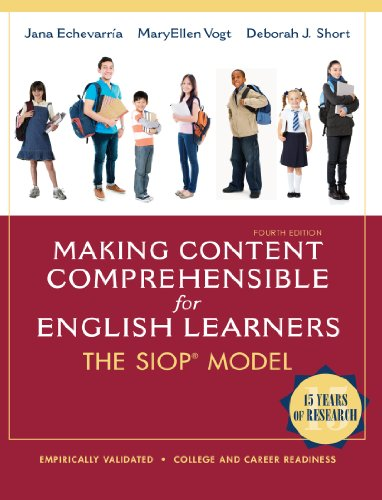 Download Making Content Comprehensible for English Learners: The SIOP Model (4th Edition) Pdf