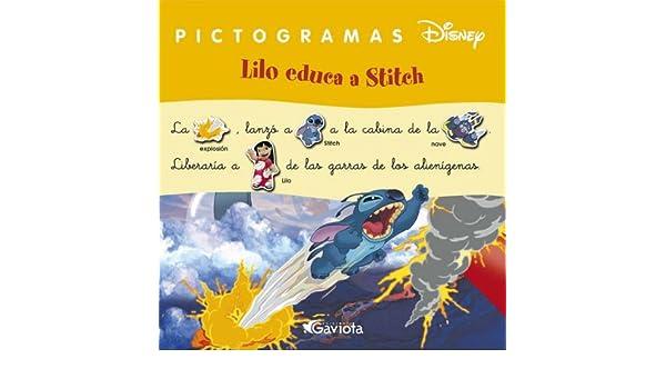 LILO EDUCA A STICH (PICTOGRAMAS DISNEY): 9788439215585: Amazon.com: Books