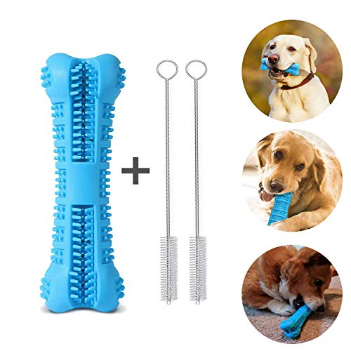 Leeko Dog Toothbrush Stick Toy, Upgraded Dog Dental Care Chew Toys Bite Resistant Nontoxic Natural Teeth Cleaner for…