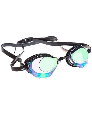 72cb4cb9f628 Mad Wave Unisex s Turbo Racer II Rainbow Racing Goggles