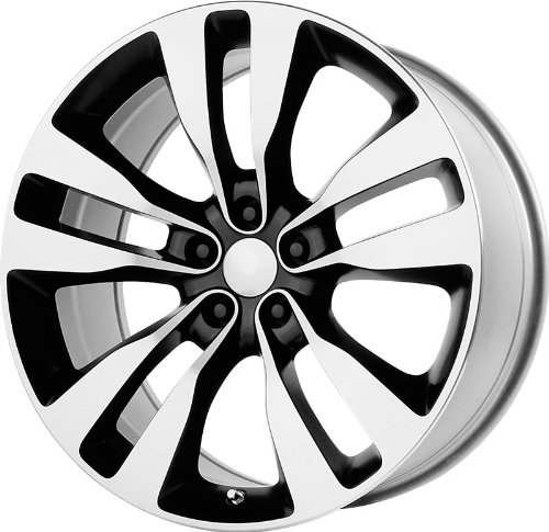 Wheel Replicas V1167 Dodge Charger SRT8 Machined Face and Lip/Black Window (22x9