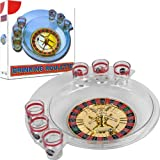 Spins Roulette Drinking Game Set with Layout - Comes with Bonus Roulette Marker!