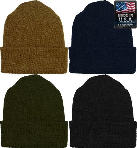 Military Genuine GI Winter USN Warm Wool Hat Watch Cap - Buy Online in  Oman.  73833783488
