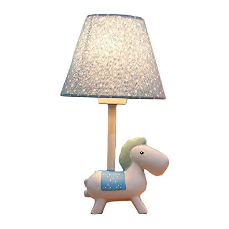 Dibujos animados de moda Caballo de madera Lámpara de mesa for ...