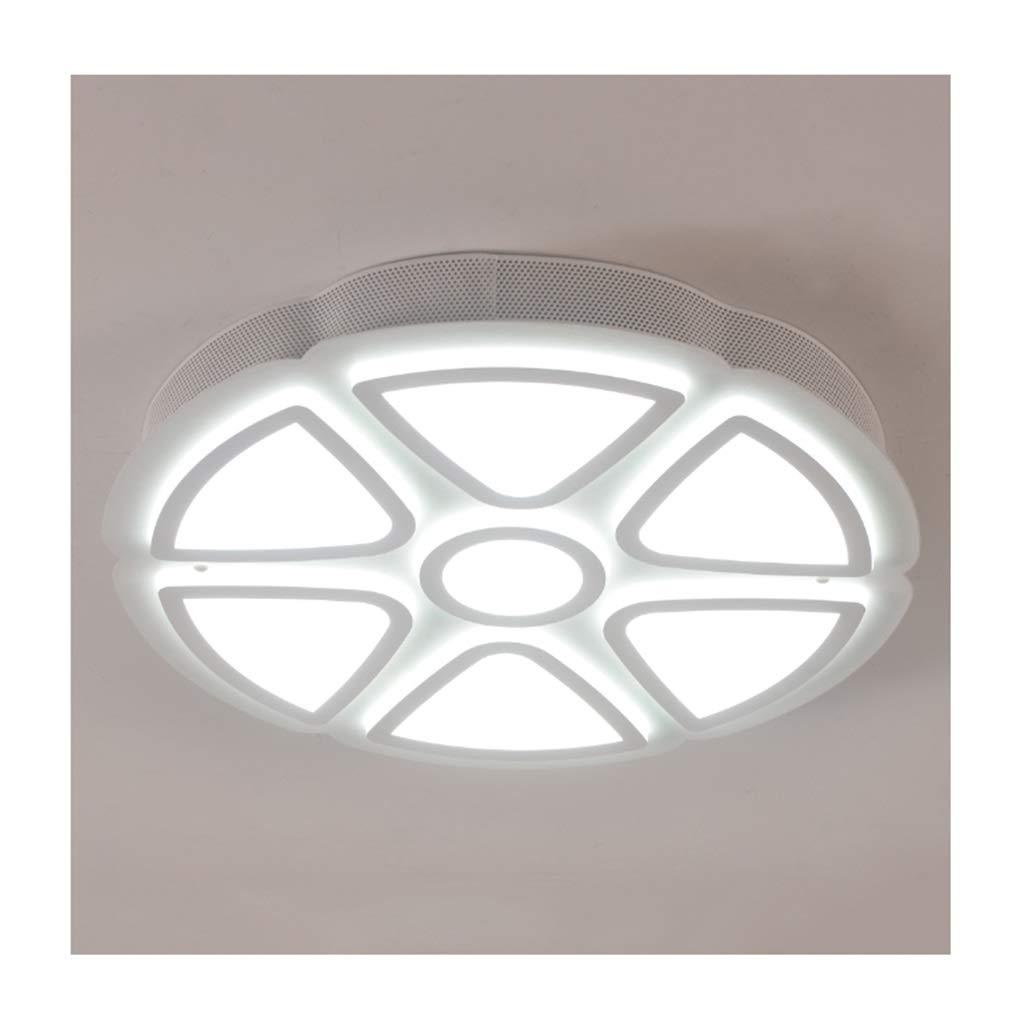 天井照明 シーリングライト、シーリングランプモダンなシンプルなアクリルメタル、リビングルームのインテリアベッドルームスタディポーチの照明、LED調光対応[エネルギークラスA ++] シーリングライト (Color : White light, Size : 52*8cm/88w) 52*8cm/88w White light B07T499WKC