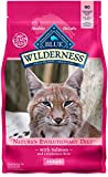 Blue Buffalo Wilderness High Protein Grain Free, Natural Adult Dry Cat Food, Salmon 5-Lb For Sale
