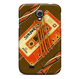 Aha6300oLNs Case Cover Retro Casette Tape Wallpaper Galaxy S4 Protective Case