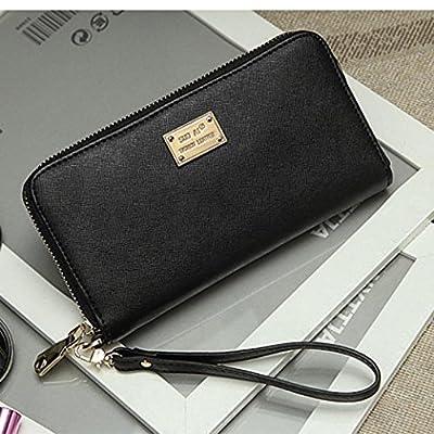 Womens RFID Blocking Leather Wallet Credit Card Holder Purse Clutch Organizer