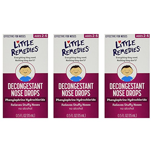 Little Remedies Decongestant Nose Drops | Phenylephrine Hydr