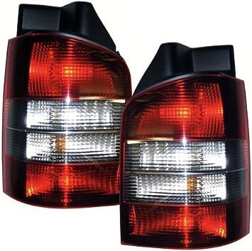 Carparts Online 14800 Rückleuchten Rot Schwarz Heckklappe Auto