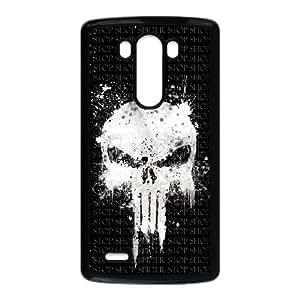 LG G3 Phone Case Bloody The Punisher Skull Logo HX93426