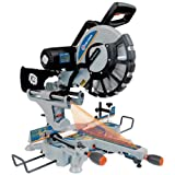 King Canada 8385N 10-Inch Dual Bevel Sliding Compound Miter Saw with Twin Laser