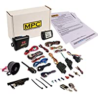 Complete 2-Way Remote Start Kit W/Keyless Entry & Alarm Combo For 2010-2012 Ford Crown Victoria - Includes Data Module