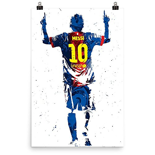 Lionel Messi Futbol FC Barcelona Poster by PixArtsy