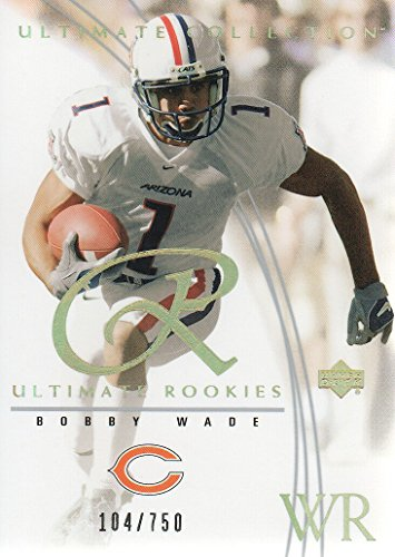 Used, 2003 Ultimate Collection Football #73 Bobby Wade RC for sale  Delivered anywhere in USA