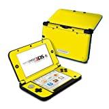 Solid State Yellow Design Protective Decal Skin Sticker (High Gloss Coating) for Nintendo 3DS XL Handheld Gaming System