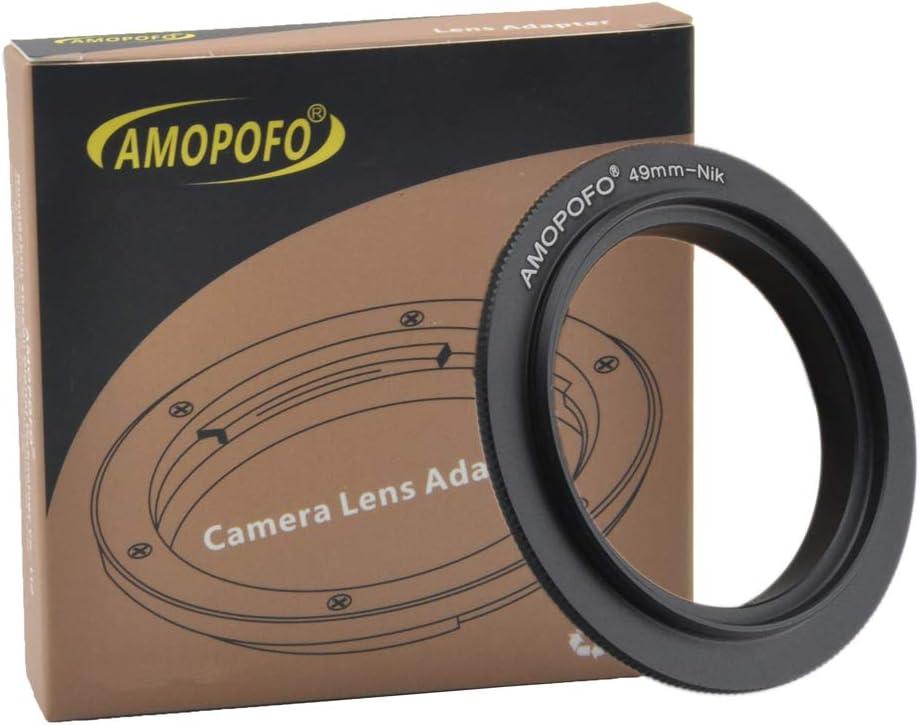 D5500,D750,D810,D5300,D3300,Df D610 DSLR Cameras 67mm Filter Thread Macro Reverse Mount Adapter Ring,/&for Nikon D7500 D7100 D7000 D5600 D5200 D7200