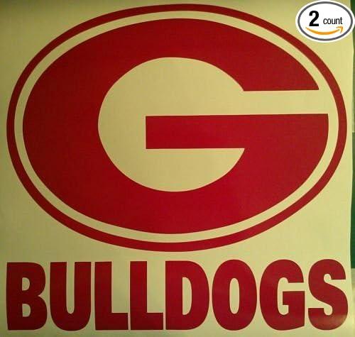 UT Vols /& Georgia Bulldogs hd 0473 custom cornhole board vinyl wraps stickers