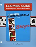 Thinking Mathematically, Blitzer, Robert F., 0321986415