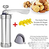 Zhenpony Cookie Press Gun Kit for...