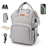 Diaper Bag Backpack Nappy Bags Waterproof Mommy Bag Travel Baby Nursing Multifunction Backpack