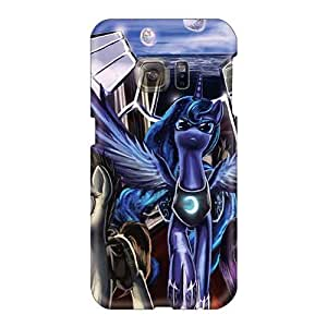 Best Hard Phone Cover For Samsung Galaxy S6 (tug395ymdX) Allow Personal Design Attractive Colorful Pain Mlp Pattern