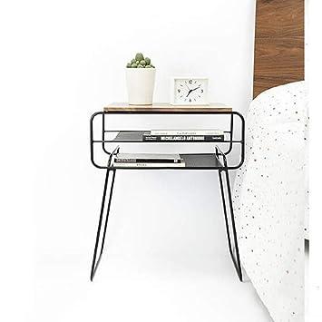 MK - Soporte de TV para mesa de teléfono, mesa de roble maciza ...
