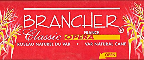 Brancher Bb Tenor Saxophone ''Classic Opera'' Reeds Strength 3, Box of 4 by Brancher