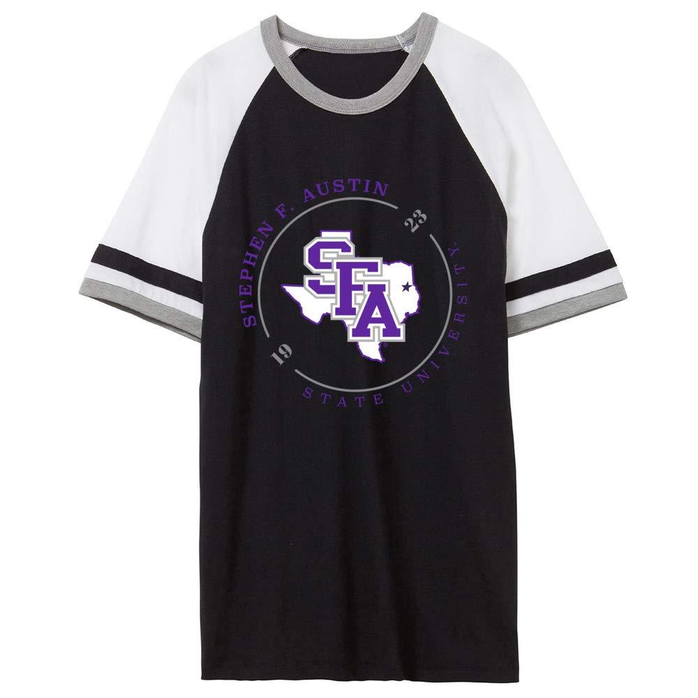 Austin Lumberjacks RYLSFA11 Unisex Slapshot Vintage Jersey T-Shirt NCAA Stephen F