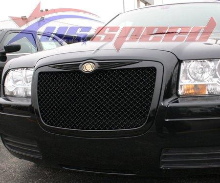 Chrysler 300 / 300C Black Mesh Style Grille With Emblem