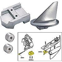 Tecnoseal Anode Kit w/Hardware - Mercury Alpha 1 Gen 1 - Magnesium
