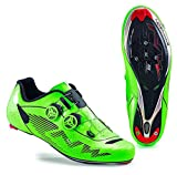 Northwave Man road cycling shoes Evolution Plus fluorescent green (43)