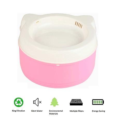 Amazon.com: Gatos fuente de agua dispensador, saludable y ...