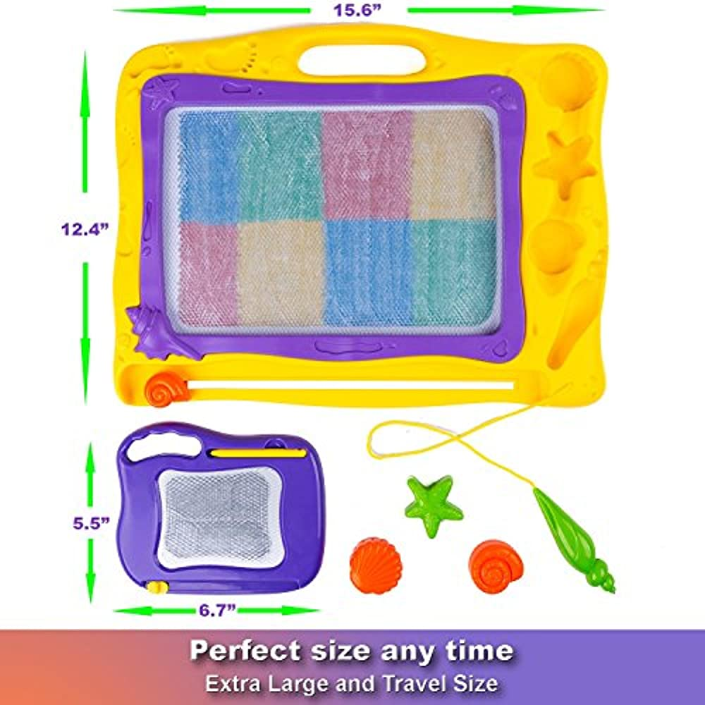 Magnetic Drawing Board Kids Mini Magna Doodle Toddlers ...