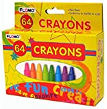 64 pack of Crayons 48 pcs sku# 1916118MA