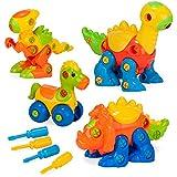 Creative Kids Build & Learn Dinosaur Toys -...