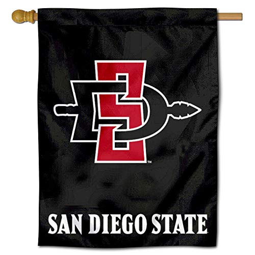 College Flags and Banners Co. San Diego State SDSU Aztecs House Flag