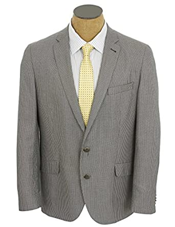 Kenneth Cole Mens Gray Check Slim Fit Sport Coat Jacket- Size 38S ...