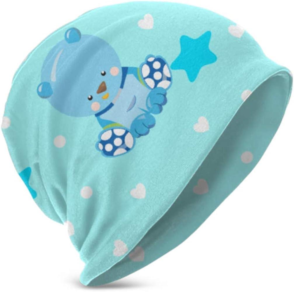 Unisex Beanie Hat Warm and Cozy Baby Teddy Bear Design 3D Kids ...