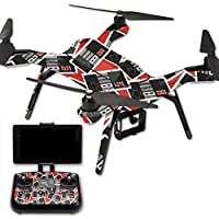 MightySkins Protective Vinyl Skin Decal for 3DR Solo Drone Quadcopter wrap cover sticker skins Retro Controllers 3