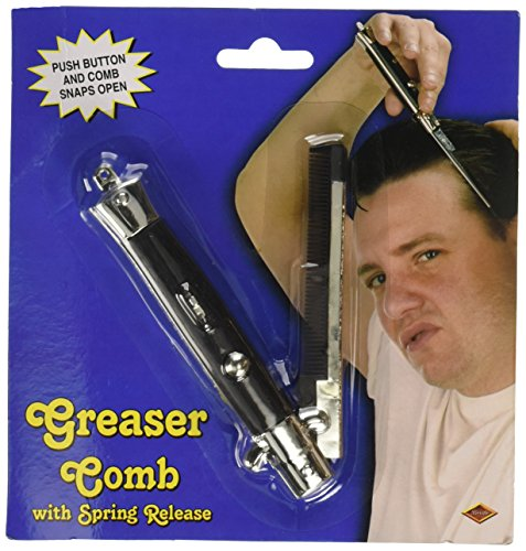 Greaser Comb Party Accessory (1 count)