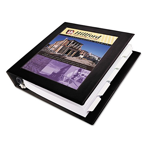 Avery Framed Presentation Locking View Binder, 1-1/2In Capacity, Black -