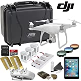 DJI Phantom 4 Platinum Bundle: Includes Apple iPad Mini 4, Go Professional Wheeled Hard Case, Range Extender/Booster, Filters, 3 Batteries, Charging Hub and more...