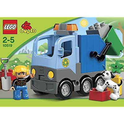 Lego Duplo 10519 Garbage Truck: Toys & Games