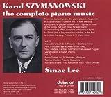 Karol Szymanowski: The Complete Piano Music (Box Set)