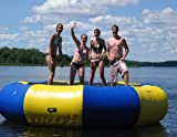Bige 3M Diameter(9.8') Water Trampoline Inflatable Bouncer Float Swim Platform sea