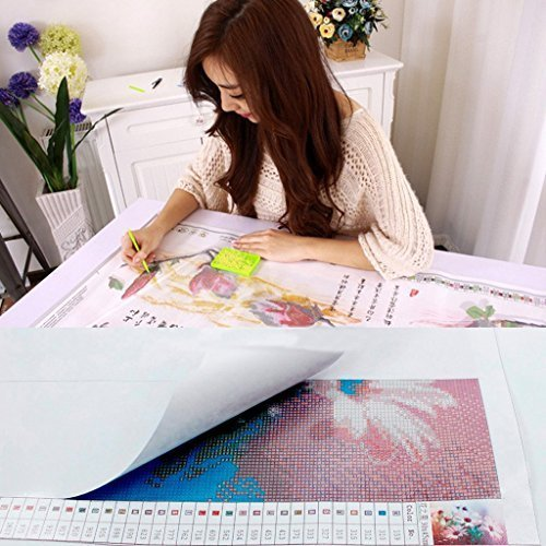 Full Drill 5D Diamond Painting Kits DIY Painting by Numbers for Adults Cross Stitch Embroidery Arts 30X40cm Bookstore